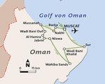 Oman Rundreise und Baden