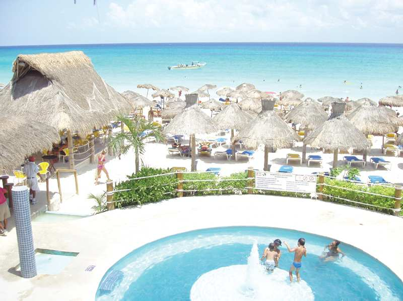 Hotel Las Golondrinas in Playa del Carmen, Riviera Maya & Insel Cozumel P
