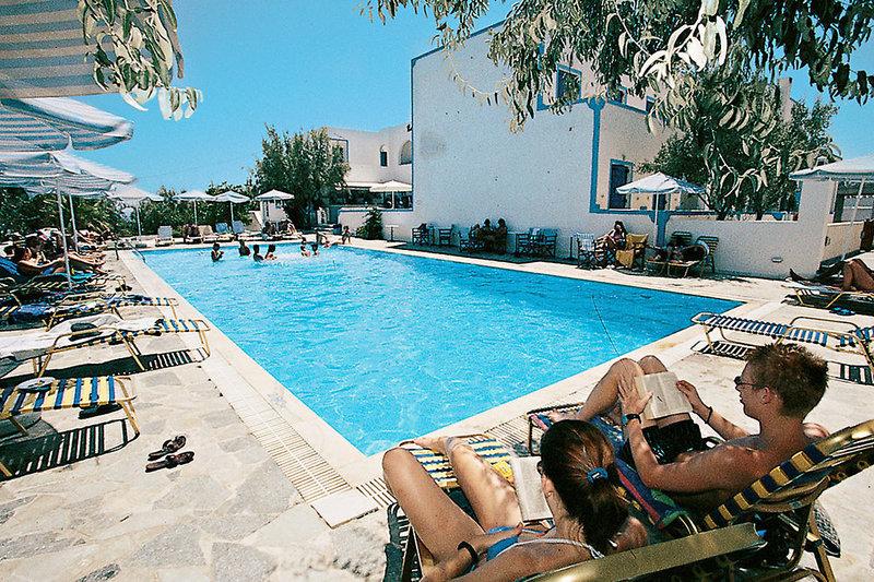 Hotel Alexandra in Kamari, Santorin