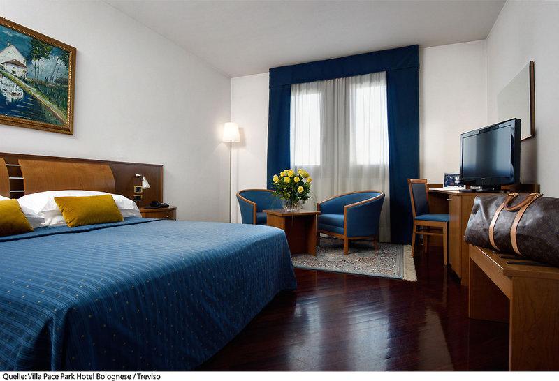 Villa Pace Park Hotel Bolognese in Preganziol, Venetien W