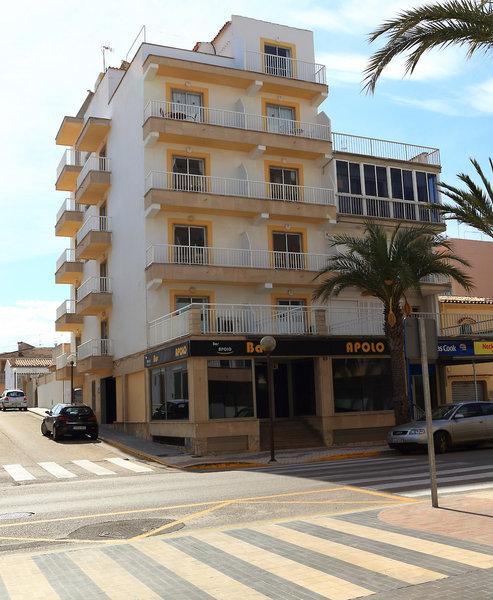 Apolo Hostal in Can Picafort, Mallorca