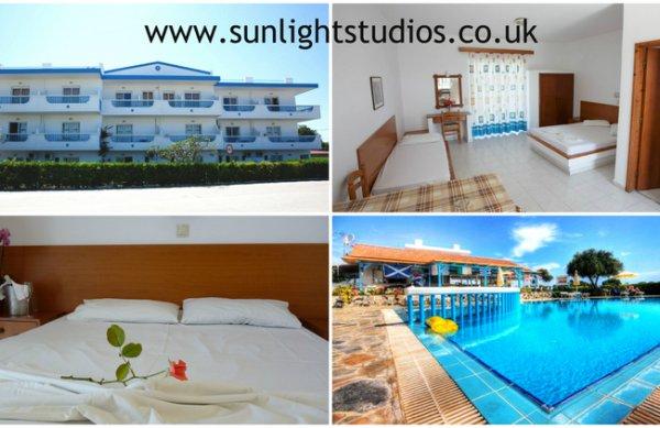Sunlight Studios in Theologos, Rhodos A