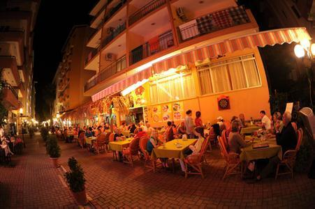 Kleopatra Bebek Hotel in Alanya, Türkische Riviera
