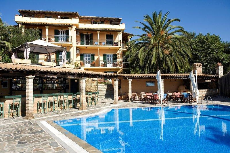 Villa Yannis in Kato Korakiana, Korfu