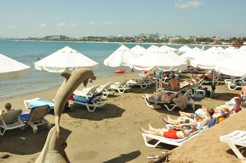 Leda Beach Hotel in Side, Türkische Riviera
