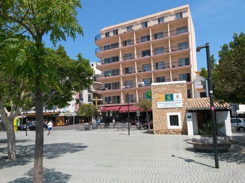 The Red in Sant Antoni de Portmany, Ibiza A