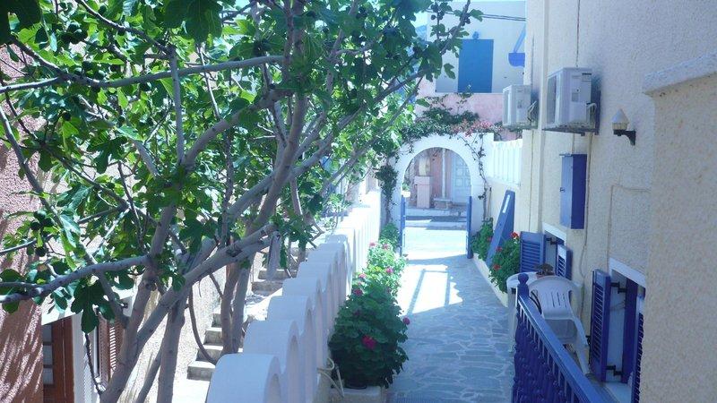 Dilino Hotel in Kamari, Santorin A