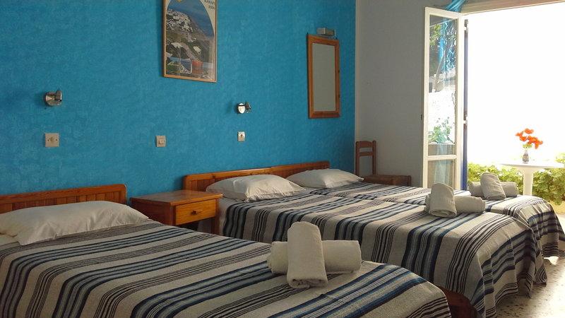 Dilino Hotel in Kamari, Santorin W