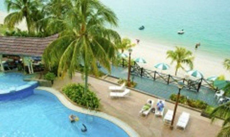 Flamingo Hotel by the Beach in Insel Penang, Malaysia - Pulau Penang P