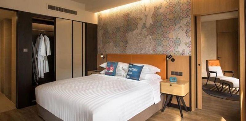 Hotel Jen Penang in Insel Penang, Malaysia - Pulau Penang W