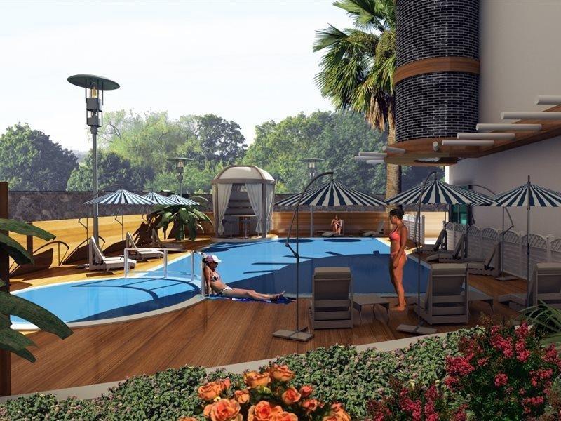 Hotel Kleopatra Blue Hawaii in Alanya, Türkische Riviera A