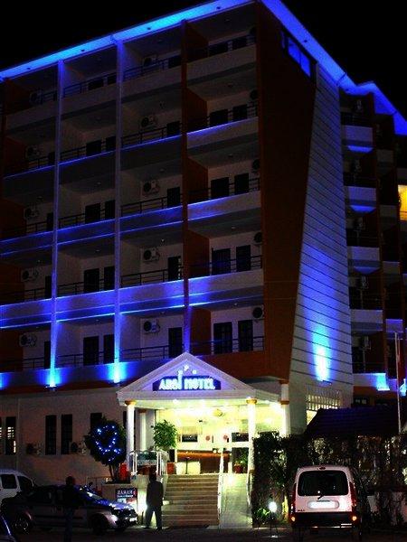 Arsi Hotel in Alanya, Türkische Riviera