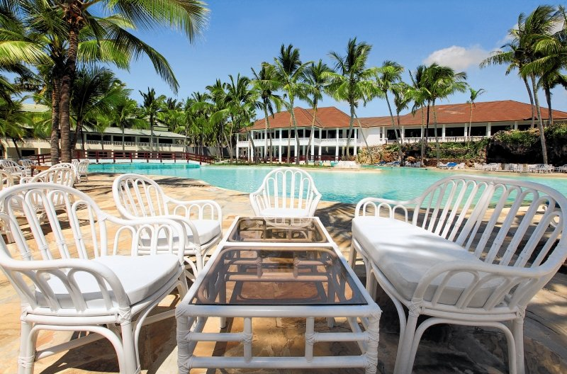 Emrald Flamingo Beach Resort & Spa in Shanzu Beach, Kenia - Küste A