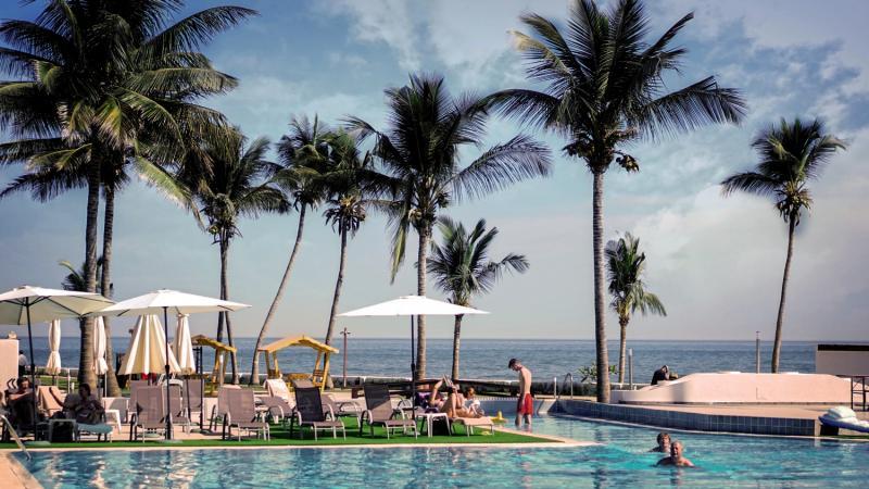 Sunbeach Hotel & Resort in Bakau, Gambia P