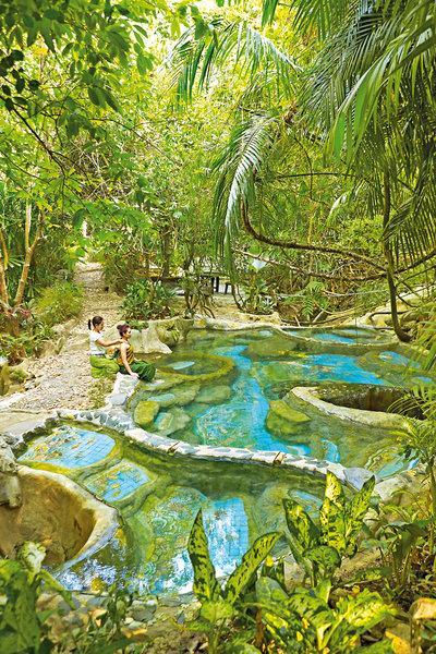 Wareerak Hot Spring Retreat in Khlong Thom, Süd-Thailand P