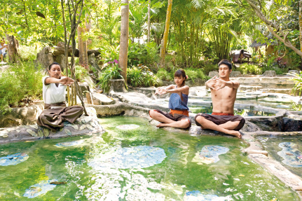 Wareerak Hot Spring Retreat in Khlong Thom, Süd-Thailand WEL