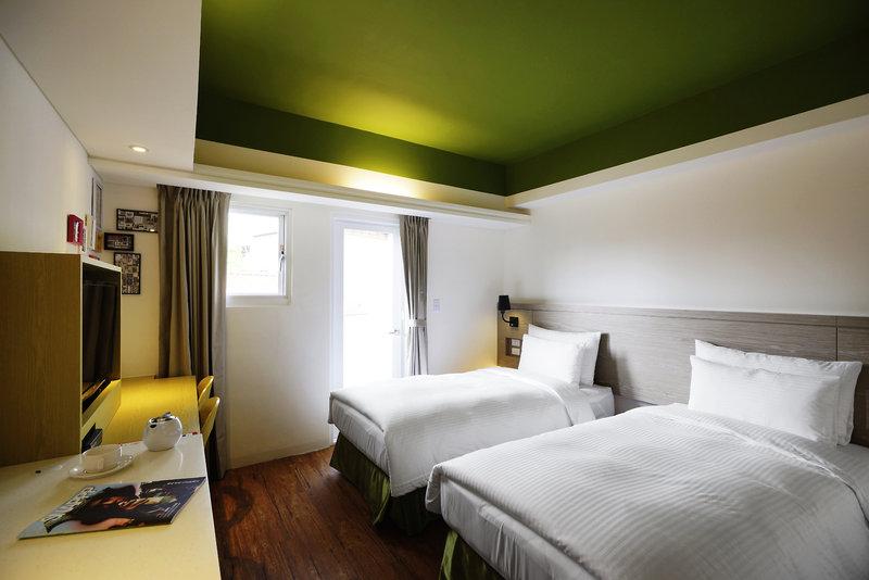 Papersun Hotel in Taipeh, Taiwan W