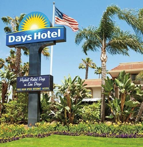Days Hotel San Diego Hotel Circle/ Near SeaWorld in San Diego, Kalifornien