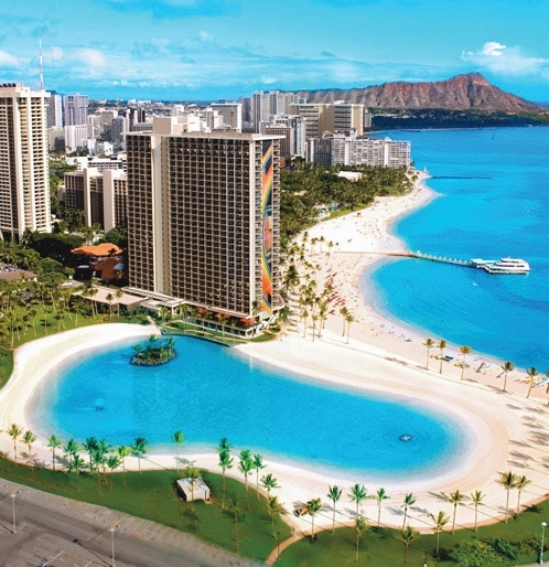 Hilton Hawaiian Village Waikiki Beach Resort in Waikiki, Hawaii