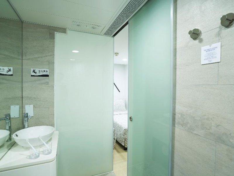 Minimal Hotel Culture in Kowloon, China - Hongkong & Umgebung W