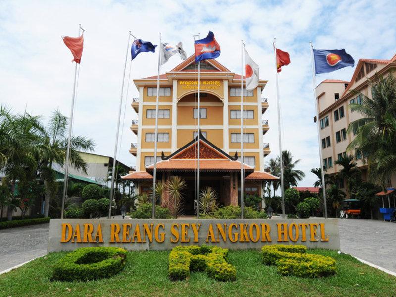 Dara Reangsey in Siem Reap, Kambodscha A