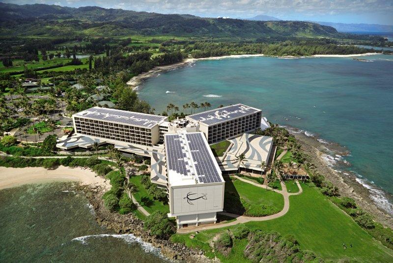 Turtle Bay Resort in Kahuku, Hawaii