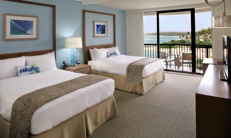 Turtle Bay Resort in Kahuku, Hawaii W