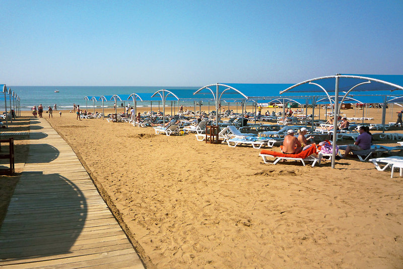 Trendy Aspendos Beach