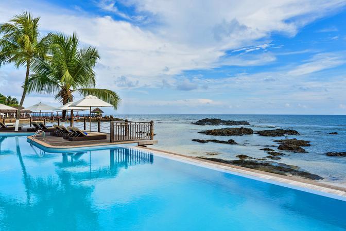 Hochzeitsreise Heiraten im Paradies Seychellen Le Meridien Fisherman's Cove