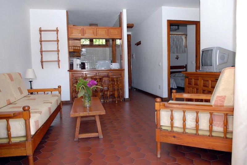 Hotelzimmer mit Fitness im Apartamentos Las Orquideas