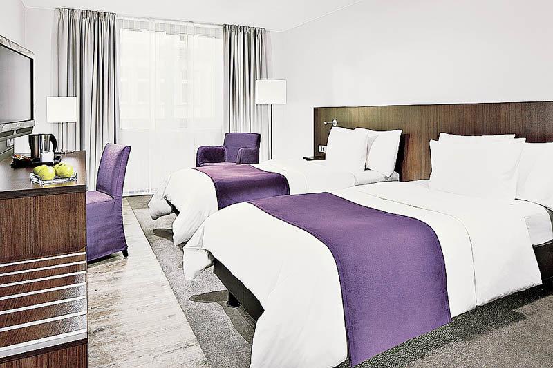 Hotelzimmer mit Kinderbetreuung im Holiday Inn Düsseldorf - Hafen