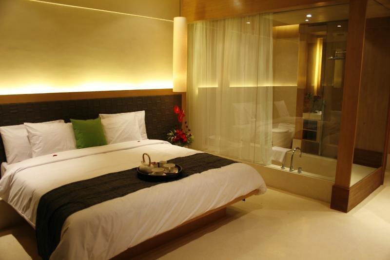 Hotelzimmer mit Kinderbetreuung im The Haven Seminyak