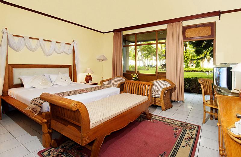 Hotelzimmer mit Tischtennis im The Jayakarta Bali Beach Resort, Residence & Spa