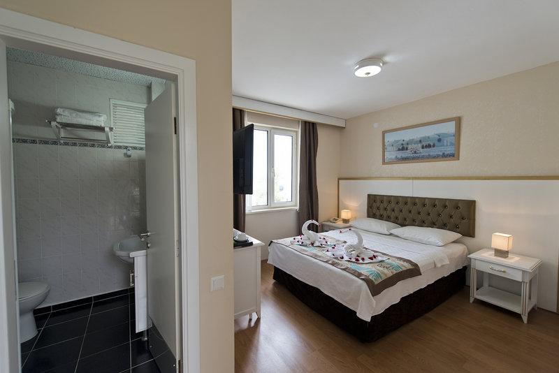 Hotelzimmer mit Volleyball im Green Beyza