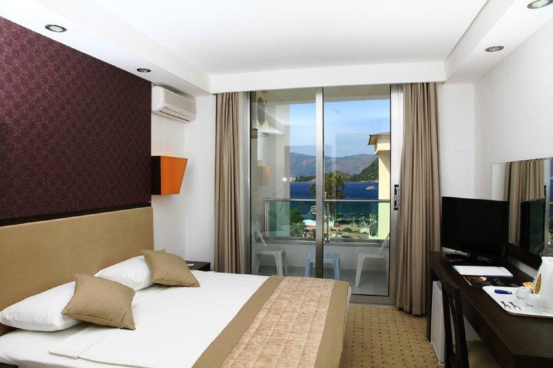 Hotelzimmer mit Volleyball im Munamar Beach Residence