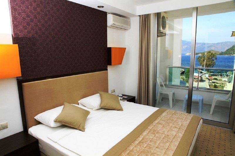 Hotelzimmer mit Yoga im Munamar Beach Residence