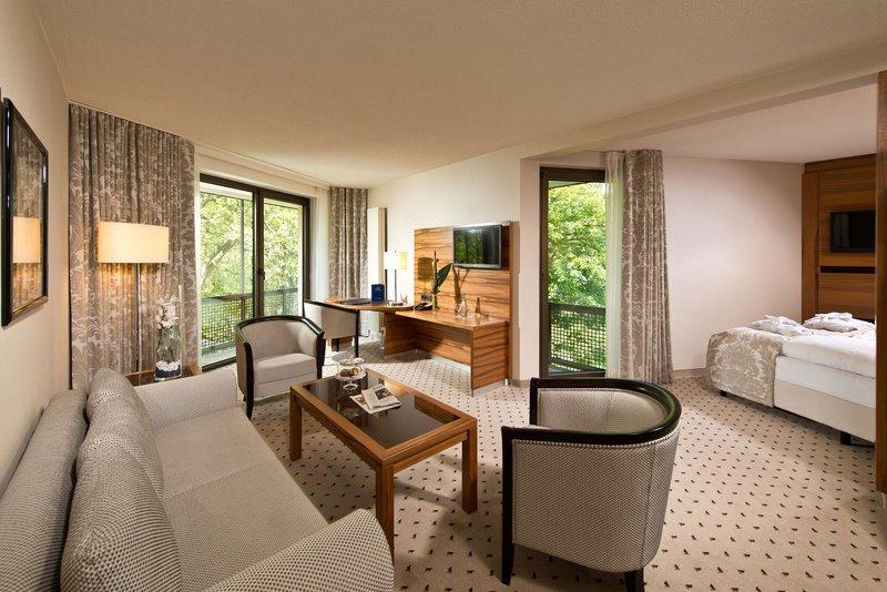 Hotelzimmer mit Fitness im Maritim Hotel Bad Homburg