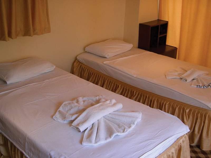 Hotelzimmer mit Fitness im Panormos Hotel