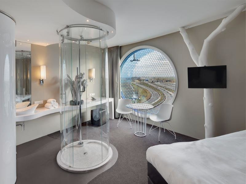 Hotelzimmer mit Fitness im Fletcher Hotel Amsterdam