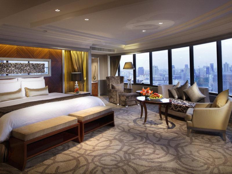 Hotelzimmer mit Tennis im InterContinental Bangkok