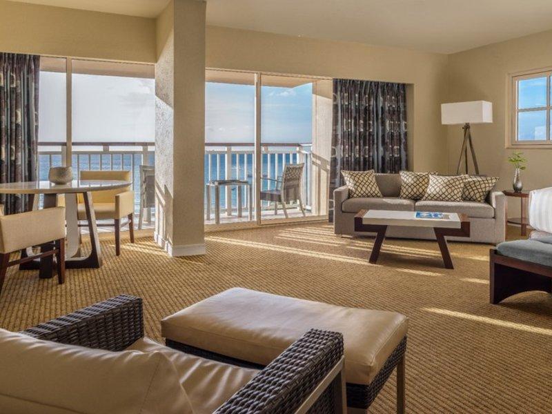 Hotelzimmer mit Tennis im Hyatt Regency Aruba Resort Spa & Casino