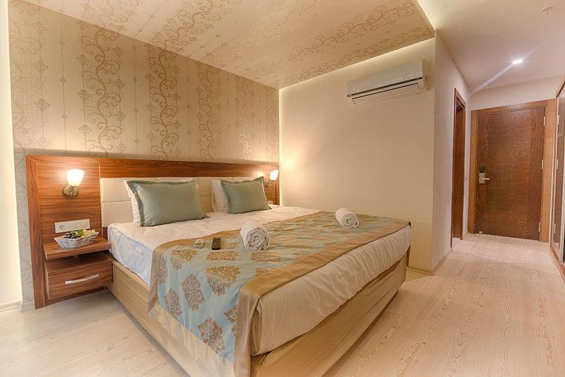 Hotelzimmer mit Volleyball im Sarp Hotels Belek