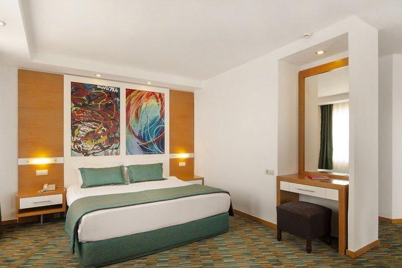 Hotelzimmer mit Fitness im Ladonia Hotels Adakule