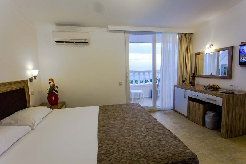 Hotelzimmer mit Volleyball im The Garden Beach Hotel