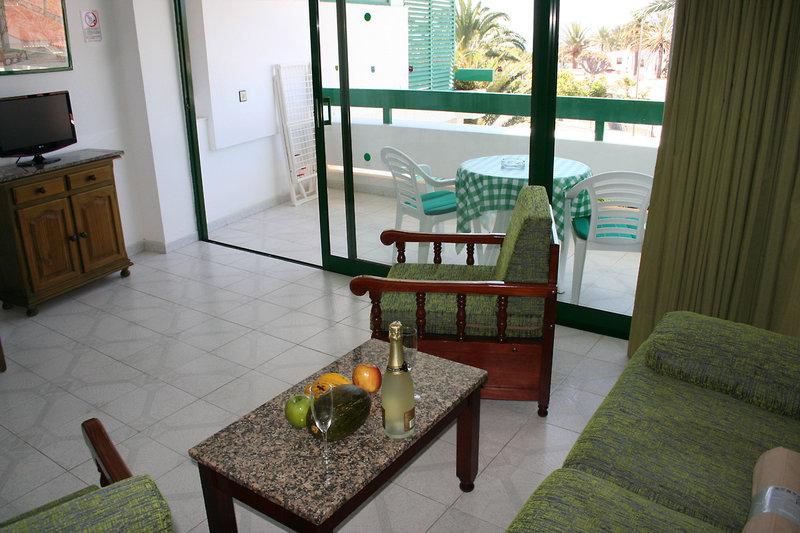 Hotelzimmer mit Kinderpool im Maba Playa Apartamentos