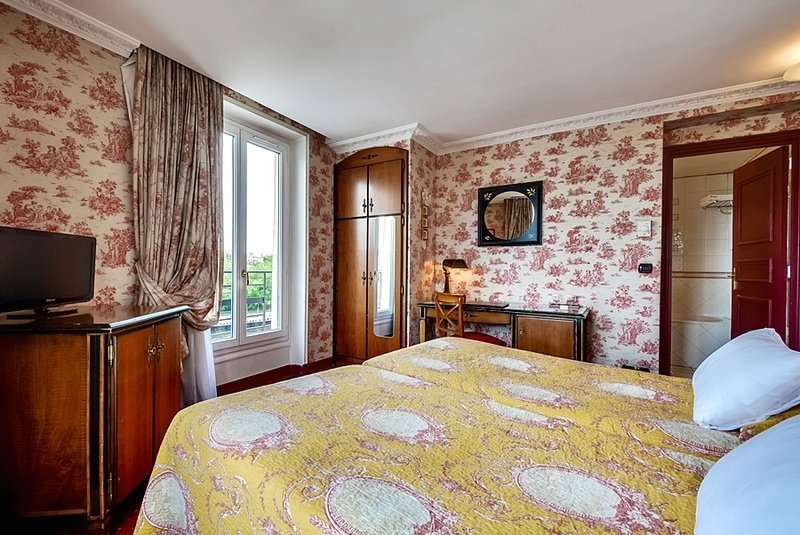 Hotelzimmer mit Restaurant im Villa Eugenie