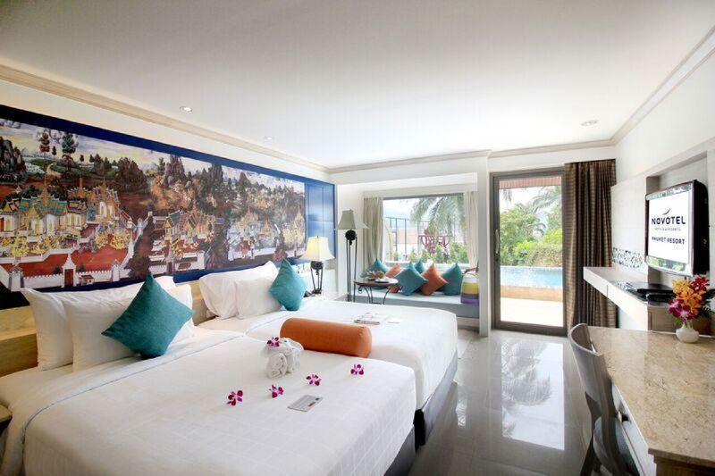 Hotelzimmer mit Fitness im Novotel Phuket Resort