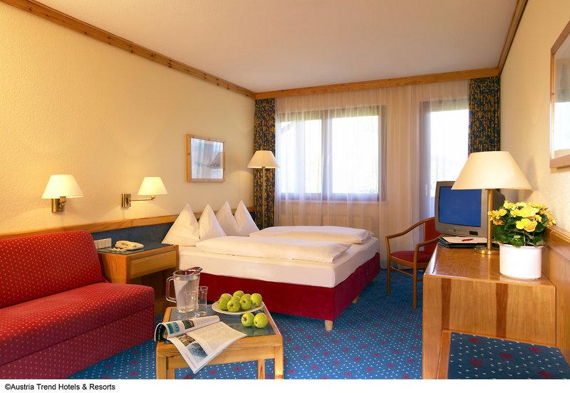 Hotelzimmer mit Reiten im Sporthotel Fontana