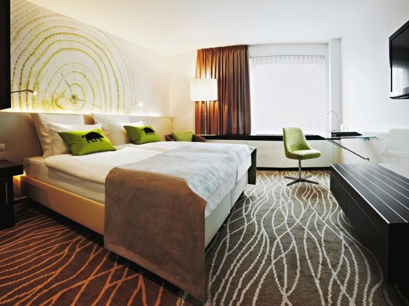 Hotelzimmer mit Fitness im Steigenberger Airport Hotel Frankfurt