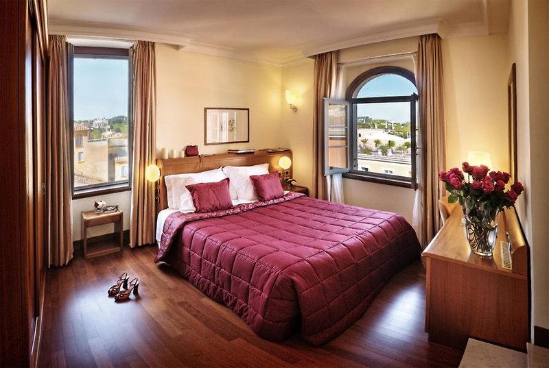Hotelzimmer mit Geschäfte im Ponte Sisto